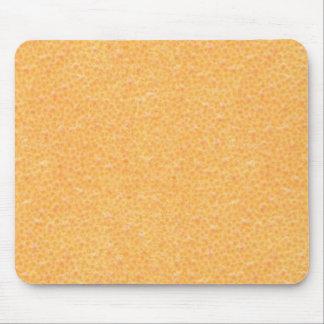 orange peel mouse mat
