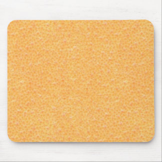 orange peel mouse pad