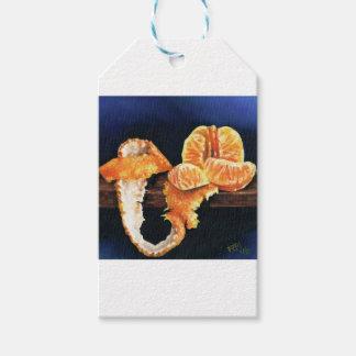 Orange, Peeled Gift Tags