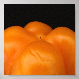 Orange Pepper Print