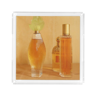 Orange Perfumes Acrylic Tray
