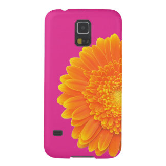 orange petals galaxy s5 cover