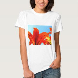 Orange Petals T Shirt