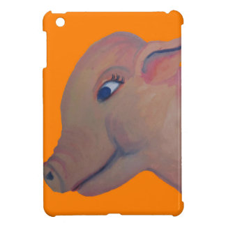 orange pig painting i-pad mini case iPad mini case