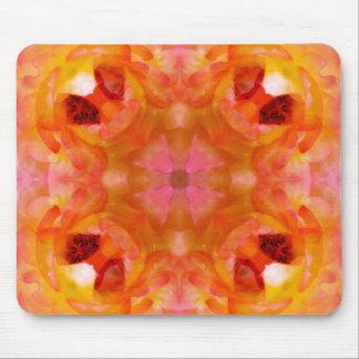 Orange & Pink Petals Mousepad