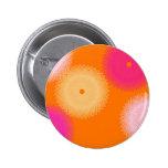 orange & pink pop color pin