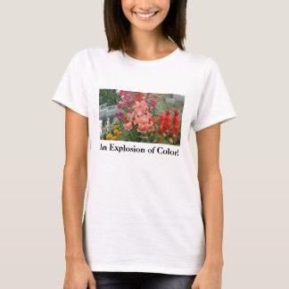 Orange-Pink Stock in 3=D! T-Shirt