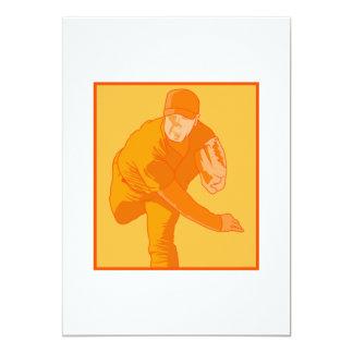 Orange Pitcher 13 Cm X 18 Cm Invitation Card