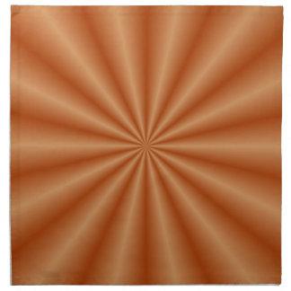 Orange Pleats Napkins