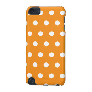 Orange Polka Dot iPod Touch (5th Generation) Cases