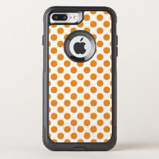 Orange Polka Dots OtterBox Commuter iPhone 7 Plus Case