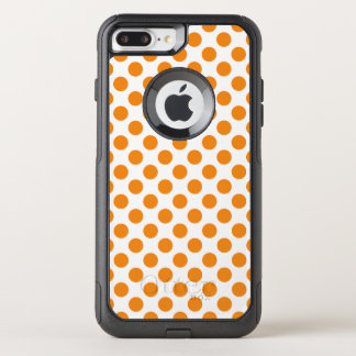 Orange Polka Dots OtterBox Commuter iPhone 8 Plus/7 Plus Case