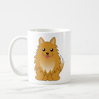 Orange Pomeranian Coffee Mug