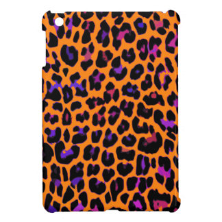Orange Pop Leopard iPad Mini Cases