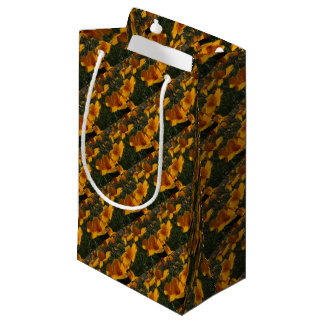 Orange Poppies Gift Bag