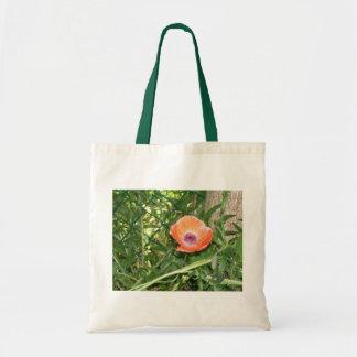 Orange Poppy Bag