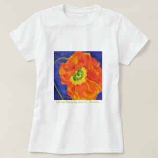 Orange Poppy T-shirt