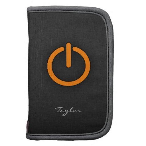 Orange Power Button Planners