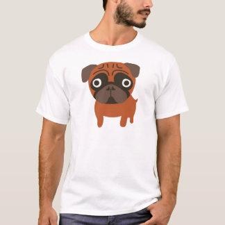 orange pug T-Shirt