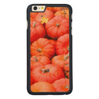 Orange pumpkins at market, Germany Carved Maple iPhone 6 Plus Case
