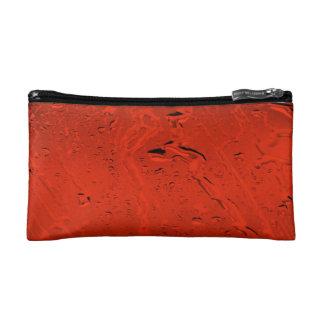 Orange Rain Makeup Bag