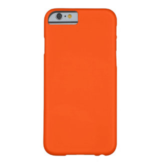 Orange Red Background Barely There iPhone 6 Case