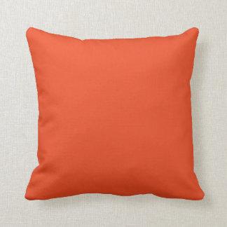orange red cushion