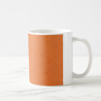Orange Red Fade Art Deco Collection Basic White Mug