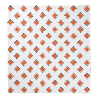 Orange Red Top One Color Bandana
