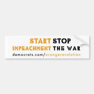 Orange Revolution bumper sticker