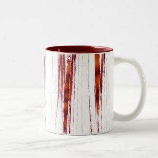 Orange Ribbon Mug