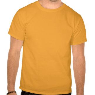 Orange Rising Sun Skull T-shirt - Customized