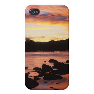 Orange River At Sunset, Richtersveld National Case For iPhone 4