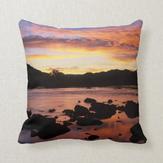 Orange River At Sunset, Richtersveld National Cushion