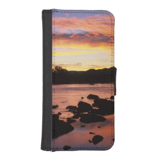 Orange River At Sunset, Richtersveld National iPhone SE/5/5s Wallet Case