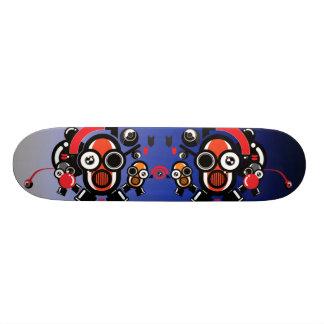 Orange Robots Skateboards