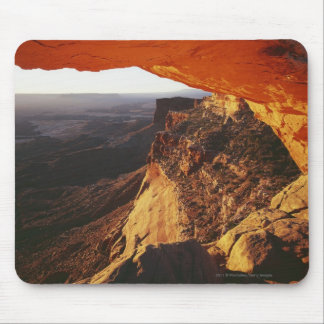 Orange Rock Overhand & Rocky Canyon Mouse Pad