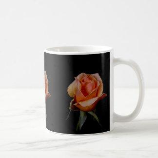 Orange Rose 3 Basic White Mug