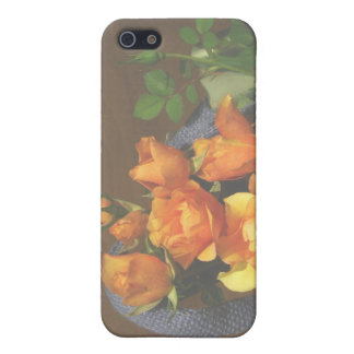 Orange Rose Bouquet iPhone 5 Cases