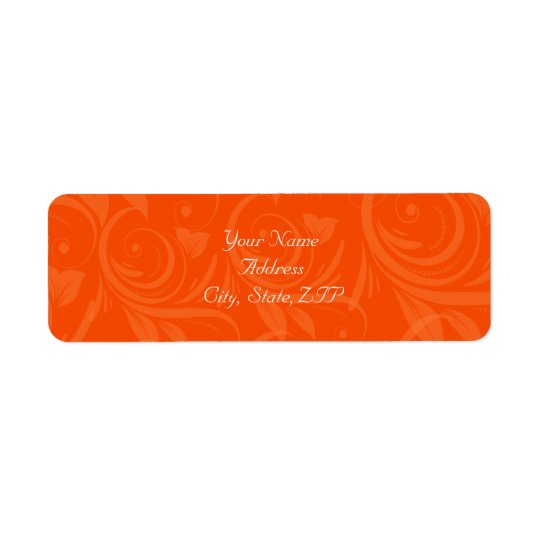 Orange Rose Graphic Wedding