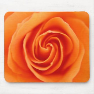 Orange Rose Mouse Pad