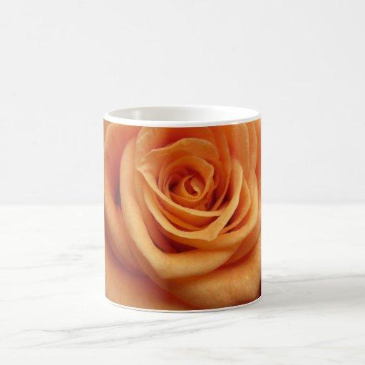 Orange rose mugs