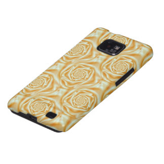 Orange Rose Spiral Samsung Galaxy SII Covers