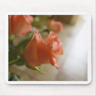 orange roses mouse mats