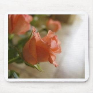 orange roses mouse pad
