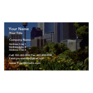 Orange Royal Botanical Gardens, Sydney, New South Pack Of Standard Business Cards