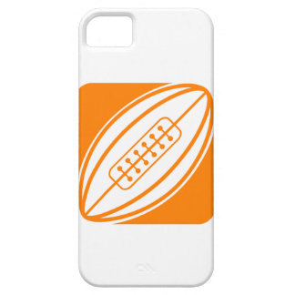 Orange Rugby iPhone 5 Cover