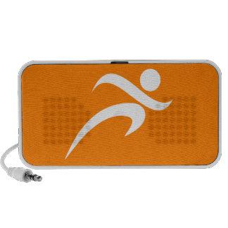 Orange Running; Runner Mini Speaker