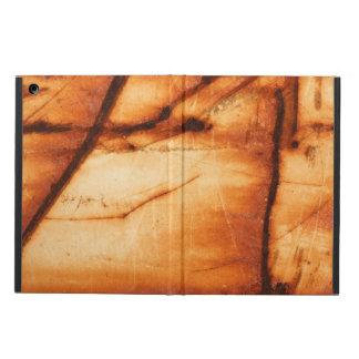 Orange rusty metal texture iPad air cover