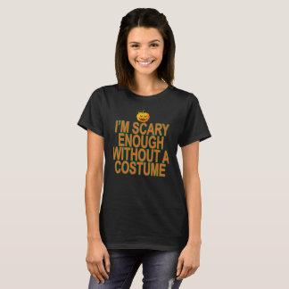 Orange Scary Enough Women's T-Shirts .